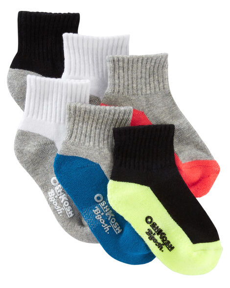 Display product reviews for 6-Pack Athletic Quarter Crew Socks