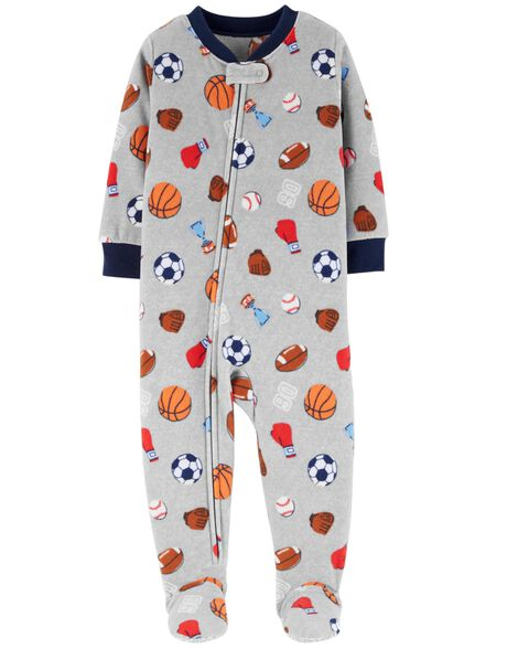 Display product reviews for 1-Piece Sports Fleece PJs