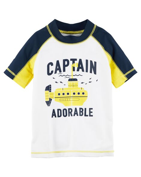 Display product reviews for Carter's Captain Adorable Rashguard