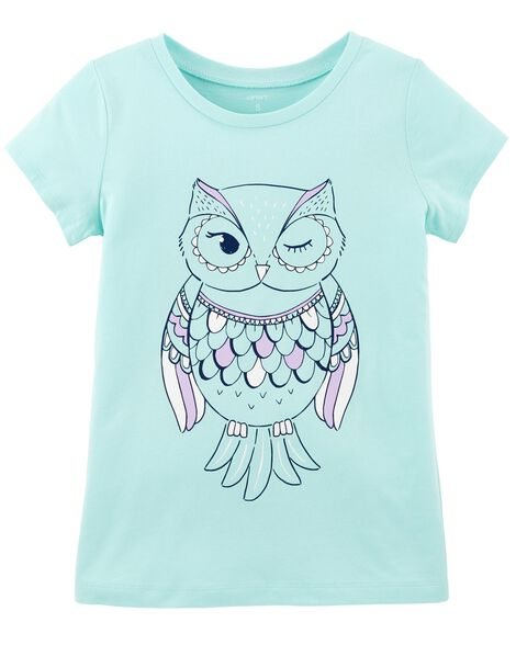 Display product reviews for Owl Jersey Tee