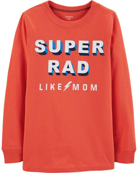Display product reviews for Super Rad Family Tee