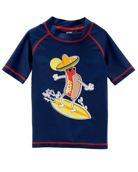 Display product reviews for Carter's Hot Dog Rashguard