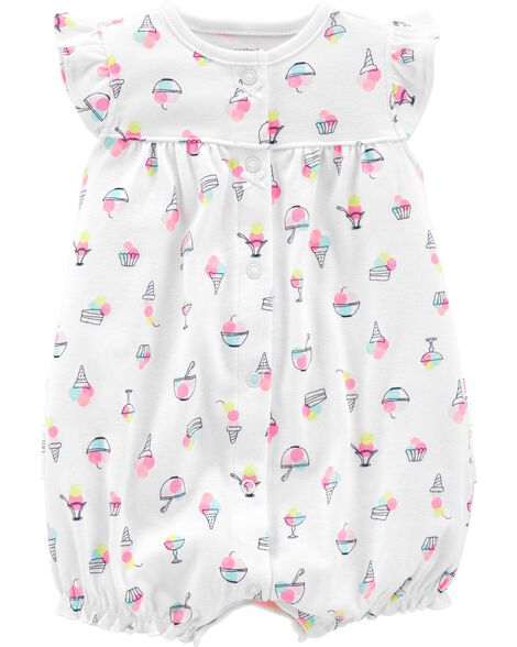 Display product reviews for Ice Cream Snap-Up Romper