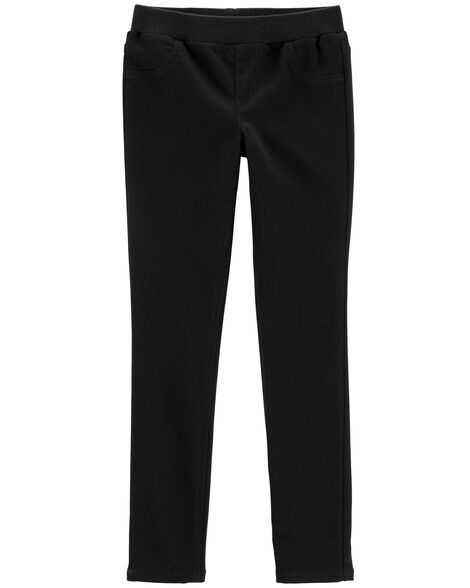 Display product reviews for Pull-On Knit Denim Pants