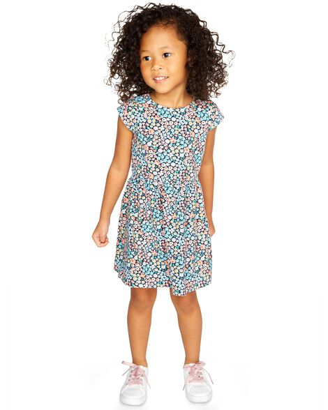 Display product reviews for Floral Jersey Dress