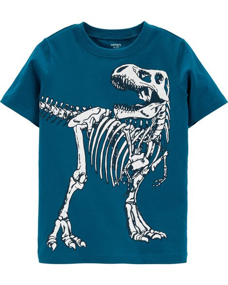d268a8ef3b8b Display product reviews for Dinosaur Skeleton Jersey Tee