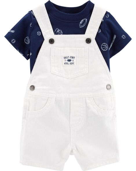 Display product reviews for 2-Piece Sports Tee & Shortalls Set