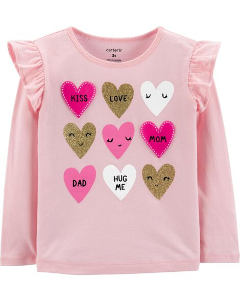 Display product reviews for Glitter Heart Tee