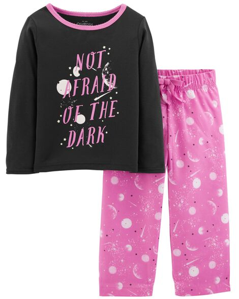 Display product reviews for 2-Piece Glow-in-the-Dark PJs