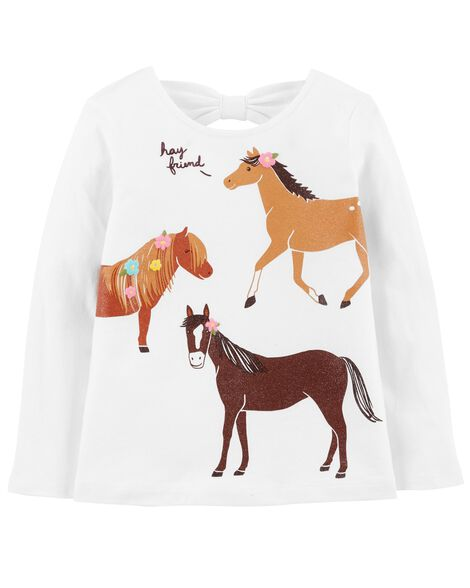 Display product reviews for Horse Bow-Tie Tee