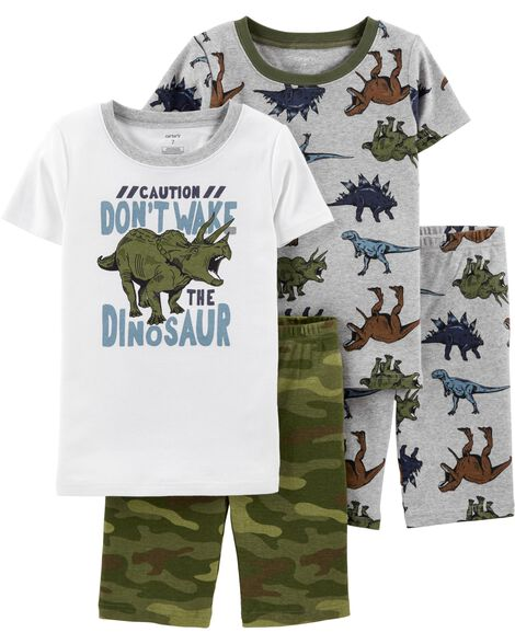 7eba91c2bb7b Display product reviews for 4-Piece Dinosaur Snug Fit Cotton PJs
