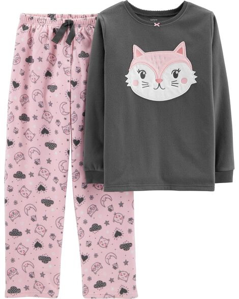 Display product reviews for 2-Piece Cat Fleece PJs