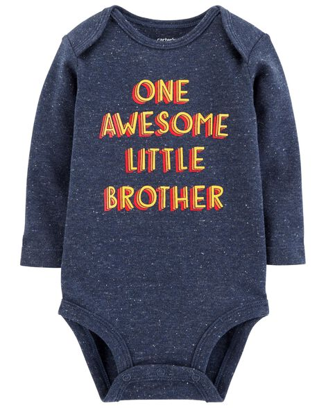 Display product reviews for Awesome Little Brother Collectible Bodysuit