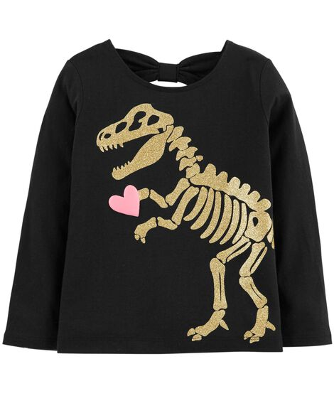 Display product reviews for Dinosaur Bow-Tie Tee