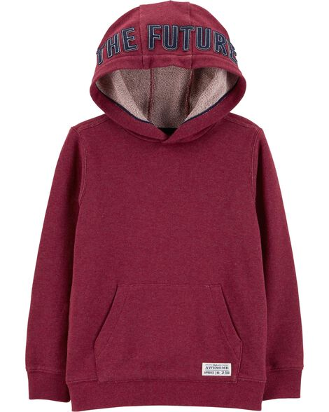 Display product reviews for Pullover French Terry Hoodie