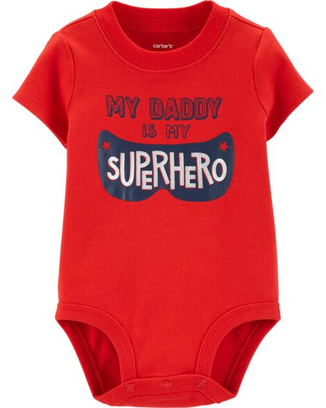 f822f2ce6e1c Display product reviews for Superhero Daddy Collectible Bodysuit