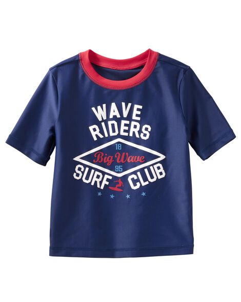 Display product reviews for OshKosh Surf Club Rashguard