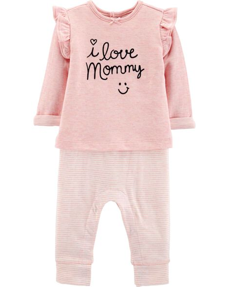 4aa9a98fff Display product reviews for I Love Mommy Doubleknit Coverall