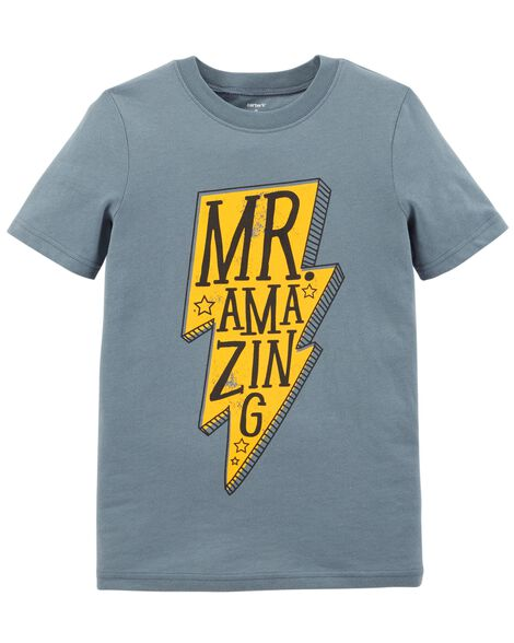 Display product reviews for Mr. Amazing Jersey Tee