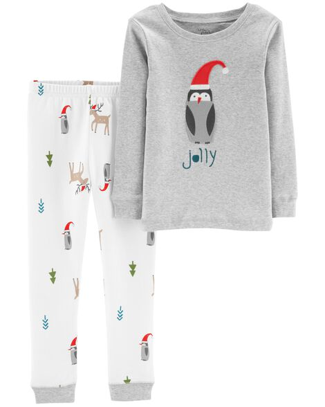 Display product reviews for 2-Piece Christmas Organic Cotton Snug Fit PJs 7a26fdaeb