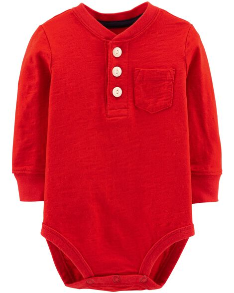Display product reviews for Henley Bodysuit