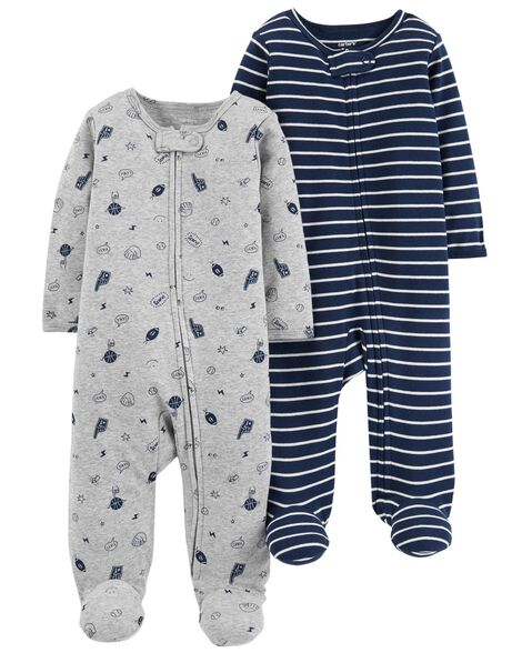 Display product reviews for 2-Pack Zip-Up Cotton Sleep   Play b13772d6a