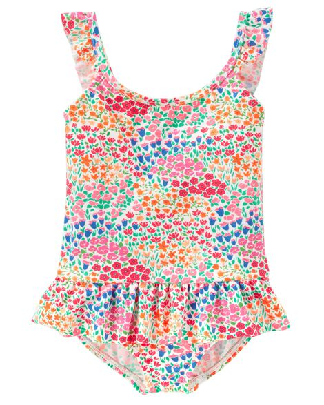Display product reviews for OshKosh Floral Swimsuit