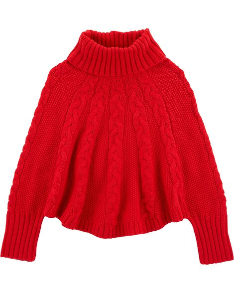 Display product reviews for Holiday Poncho Sweater