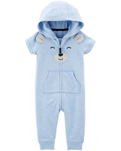 Display product reviews for Bear Hooded Jumpsuit
