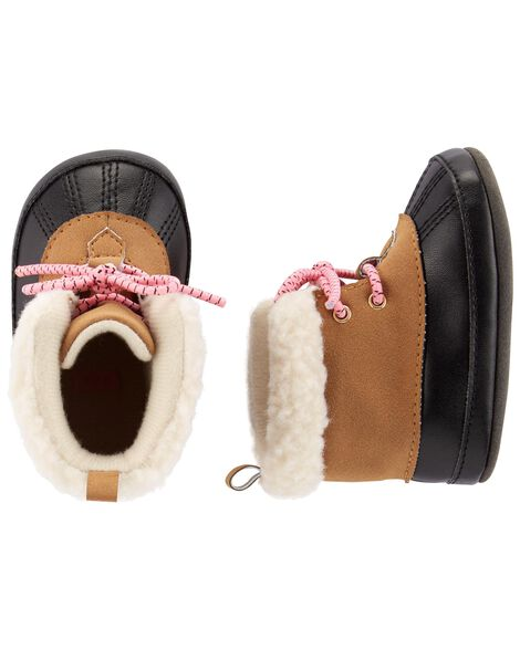 Display product reviews for Carter's Duck Boot Baby Shoes