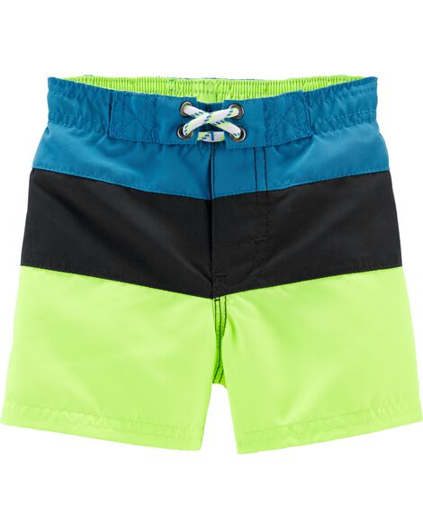 bf7dae83c1 Display product reviews for OshKosh Colorblock Swim Trunks