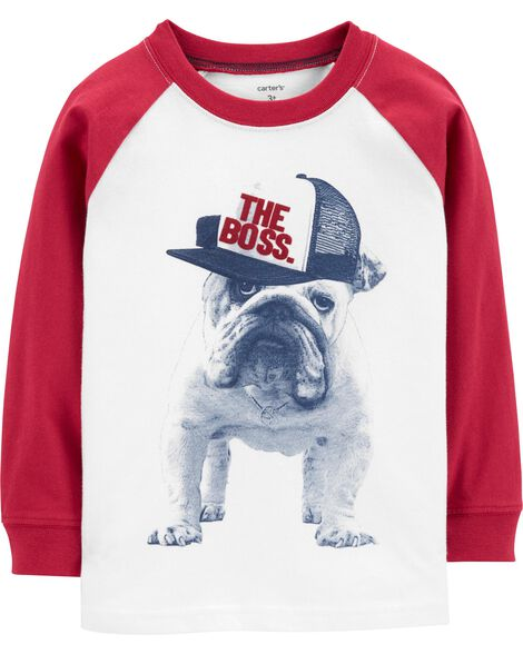 Display product reviews for Bulldog Raglan Tee