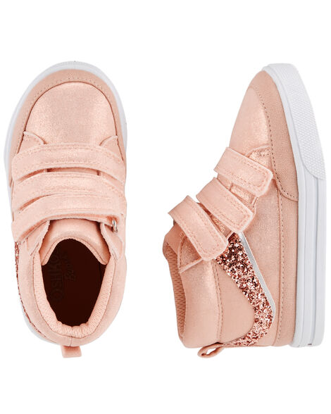 Display product reviews for OshKosh Sparkle Mid-Top Sneakers
