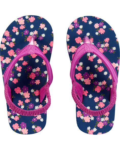 Display product reviews for Carter's Floral Flip Flops