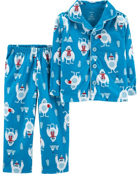 Display product reviews for 2-Piece Abominable Snowman Lightweight Fleece PJs
