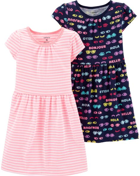 ccf658f3c6cb68 Baby Girl Dresses & Rompers | Carter's | Free Shipping