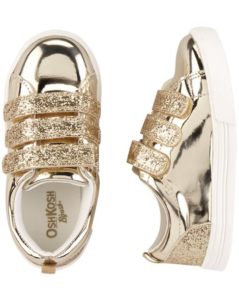 Display product reviews for OshKosh Gold Sneakers