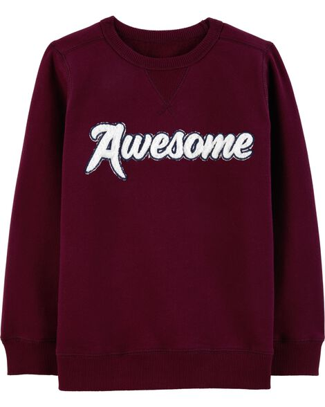 Display product reviews for Awesome Fleece Sweatshirt