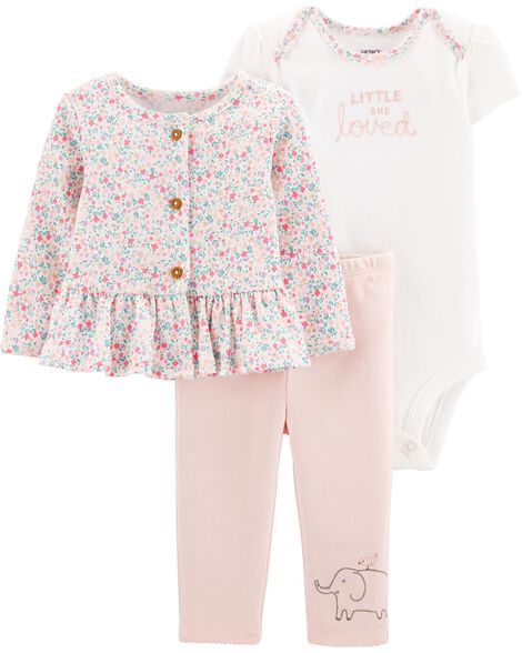 911c26ee76366 Display product reviews for 3-Piece Little Cardigan Set