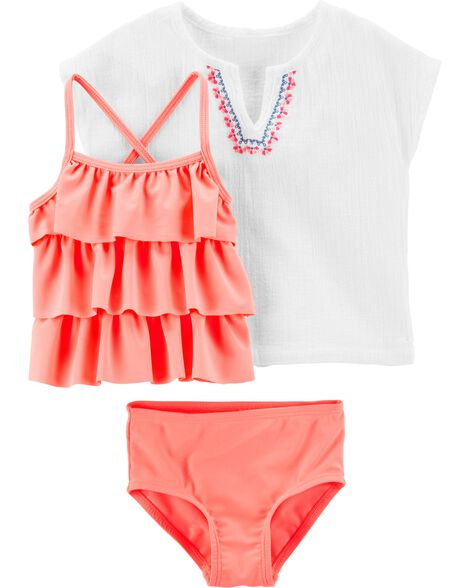 b4c4ae14a9 Baby Girl Swimsuits, Bathing Suits & Swimwear | Carter's | Free Shipping