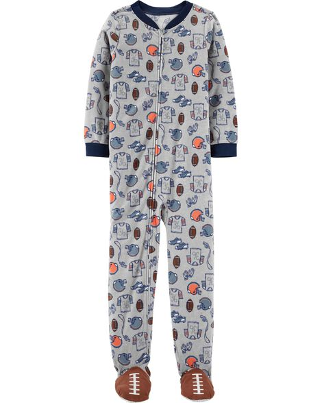 0d9b3a1ec Display product reviews for 1-Piece Sports Fleece Footed PJs