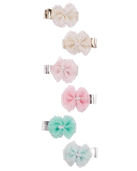 Display product reviews for 6-Pack Bow Hair Clips