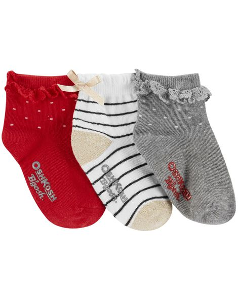 Display product reviews for 3-Pack Holiday Quarter Socks