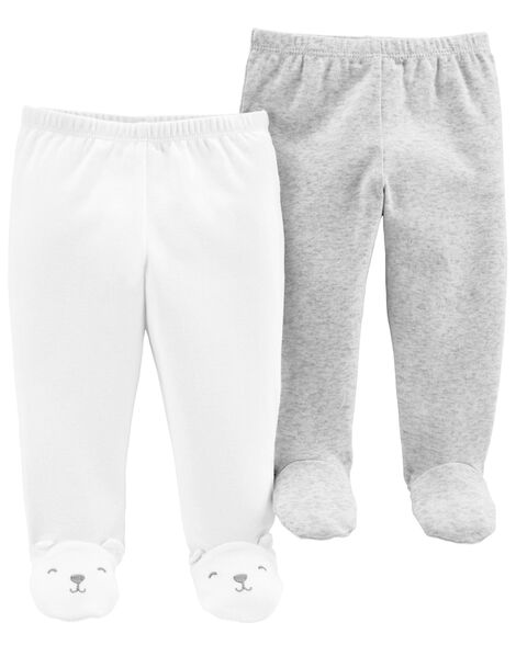 Display product reviews for 2-Pack Babysoft Footed Pants