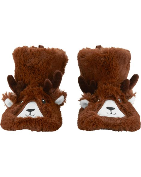 Display product reviews for Carter's Reindeer Slippers