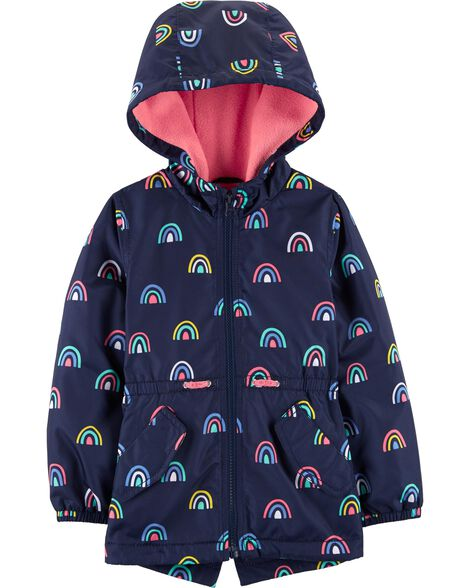 a756ac4303d02 Display product reviews for Rainbow Fleece-Lined Water Resistant Jacket