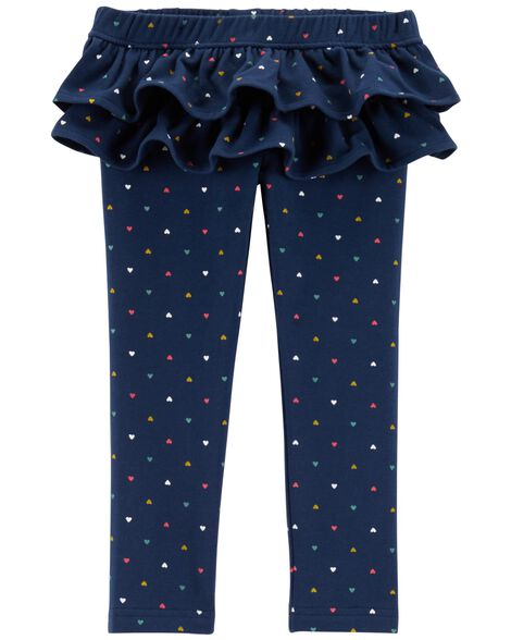 Display product reviews for Polka Dot Ruffle French Terry Pants