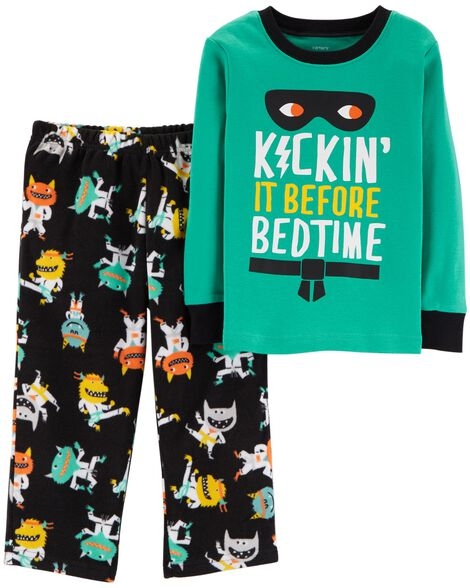 Display product reviews for 2-Piece Monster Snug Fit Cotton & Fleece PJs