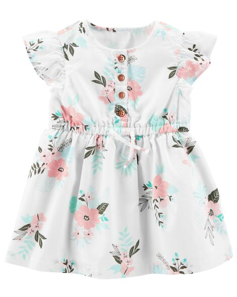Display product reviews for Floral Flutter-Sleeve Dress