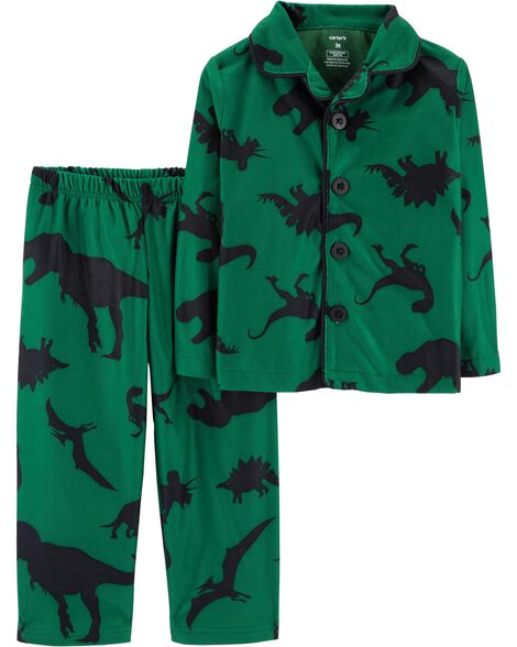 Display product reviews for 2-Piece Dinosaur Coat Style Fleece PJs